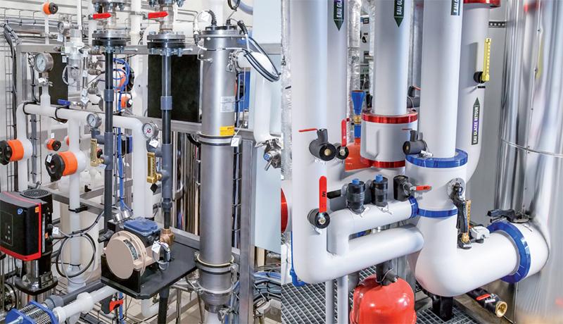 Conception, installation et maintenance de chaudières industrielles
